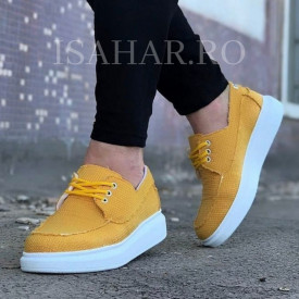 Pantofi sport barbati, potriviti pentru vara si toamna, model casual, ISAHAR