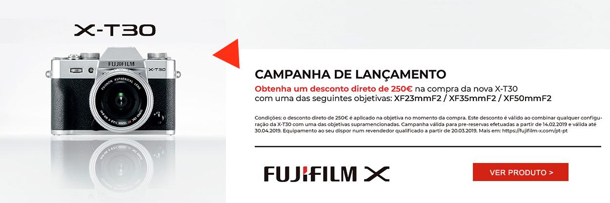 Campanha de Lançamento Fujifilm X-T-30