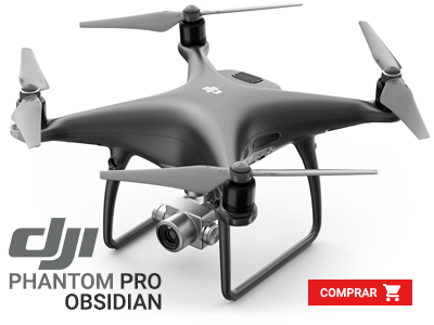 Drone Phantom 4 PRO OBSIDIAN EDITION Portugal
