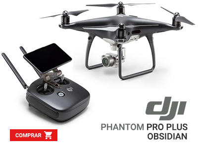 Drone Phantom 4 PRO PLUS OBSIDIAN EDITION Portugal