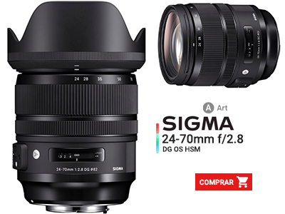 SIGMA 24-70MM F/2.8 ART DG OS HSM