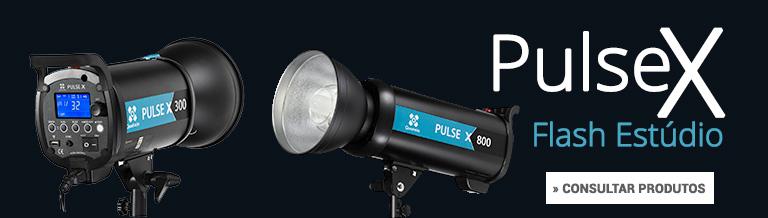 Flash de Estúdio Quadralite Pulse X consultar produtos