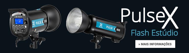 Flash de Estúdio Pulse X mais informações