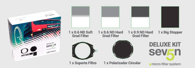 Deluxe KIT Sistema de Filtros LEE Seven5