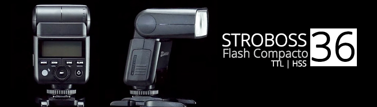 Flash Compacto Stroboss 36