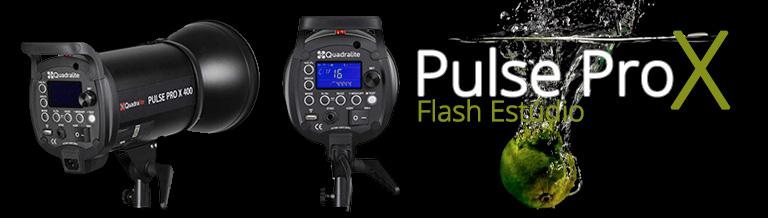 Flash de Estúdio Quadralite Pulse PRO X