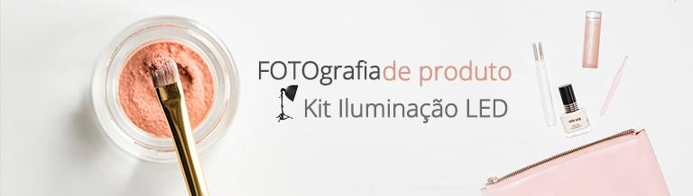 KIts de Iluminação LED Fotografia de Produto