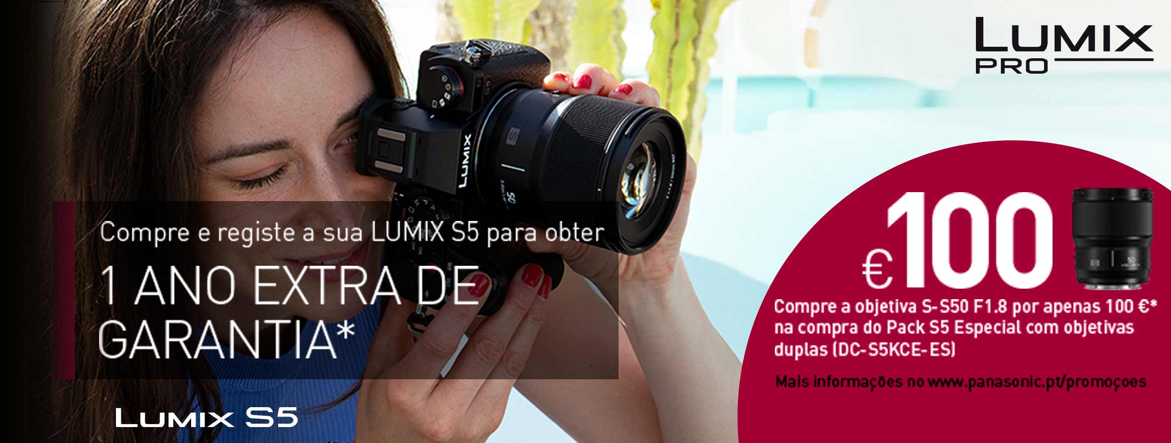 Pack Especial Lumix S5 Coloreffects