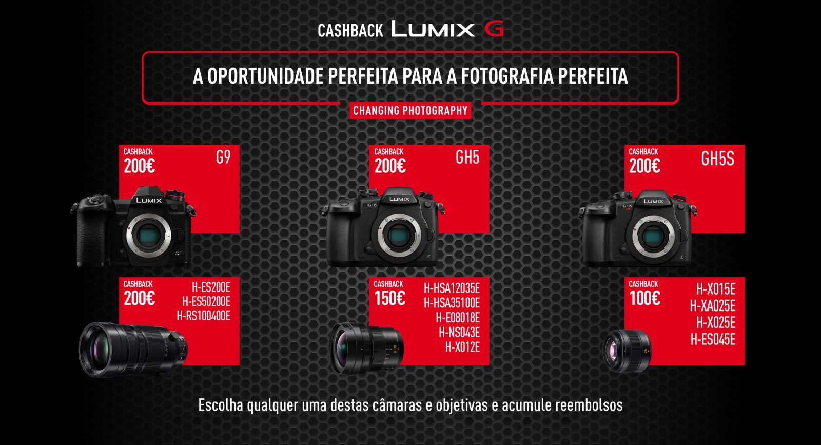 Panasonic, cashback Lumix G