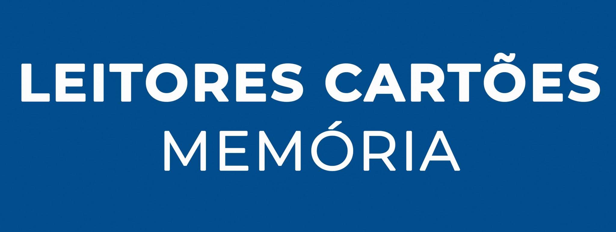 Leitores de Cartões Memória