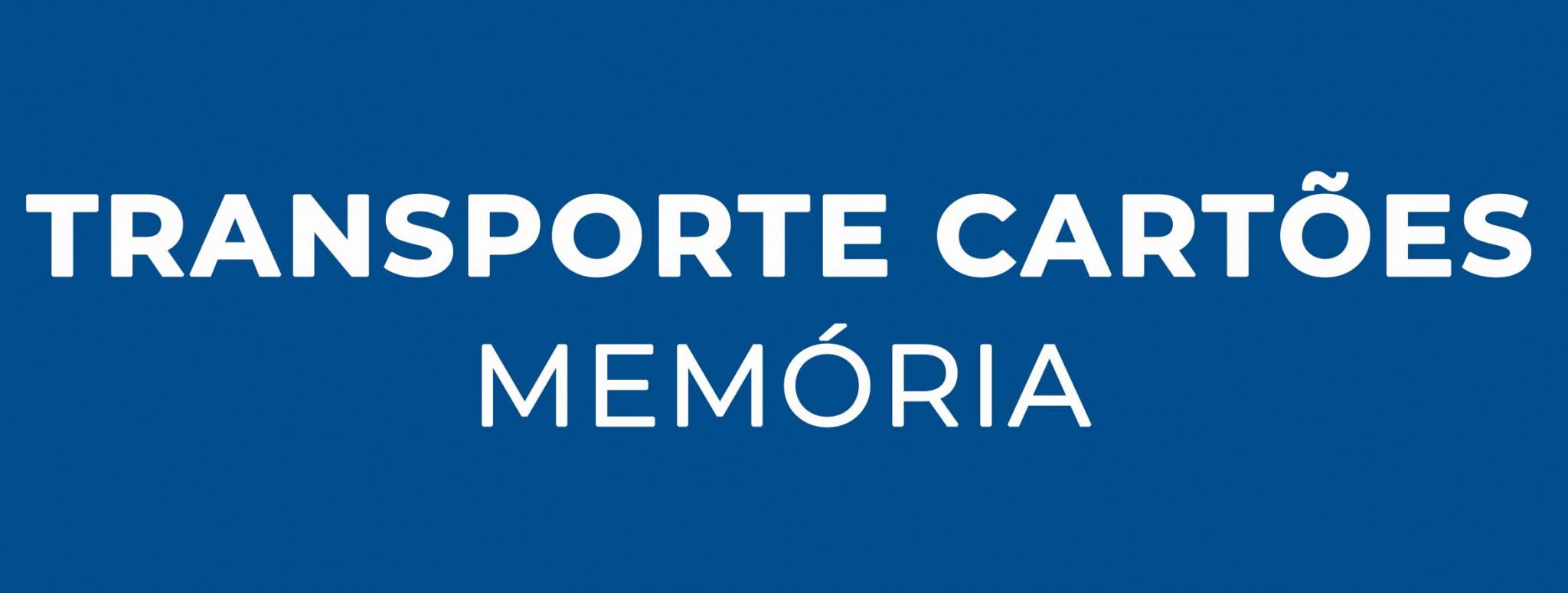 Transporte Cartões Memória