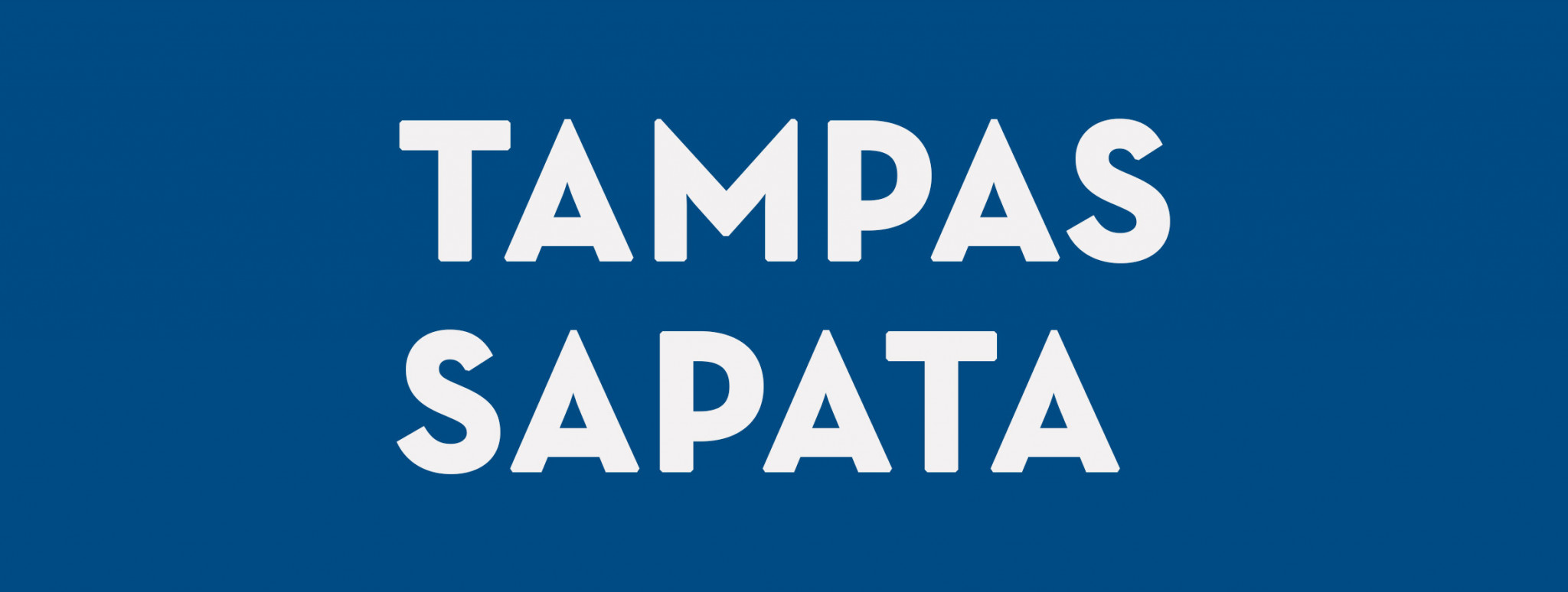 Tampas Sapata