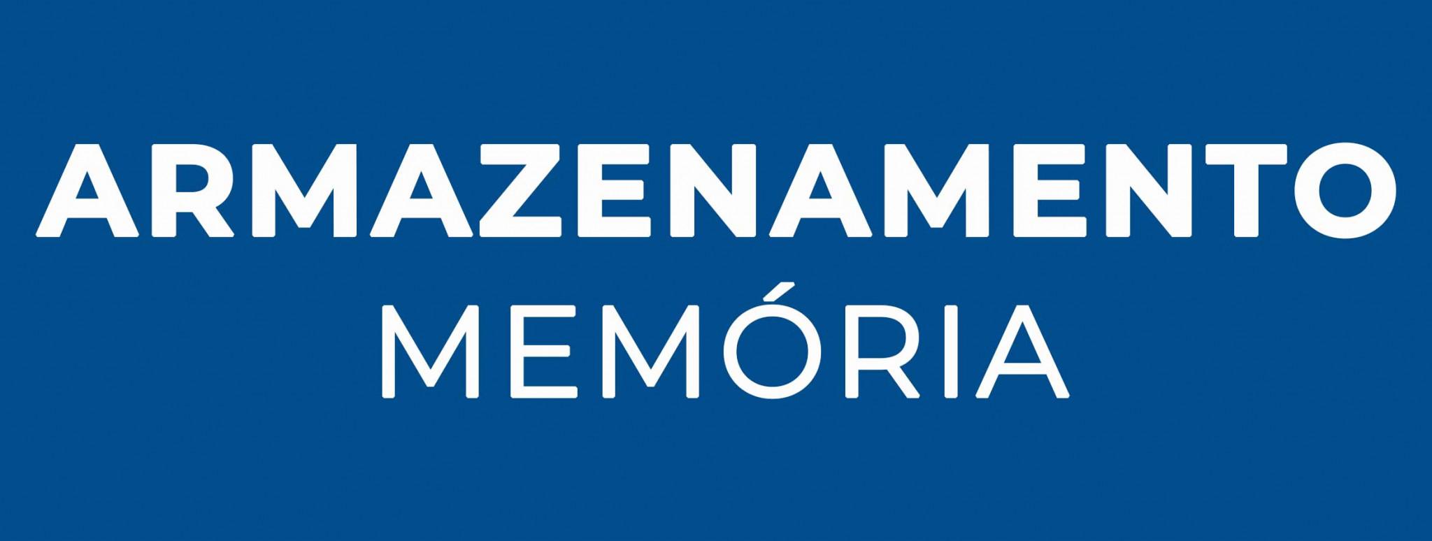 Armazenamento Memória