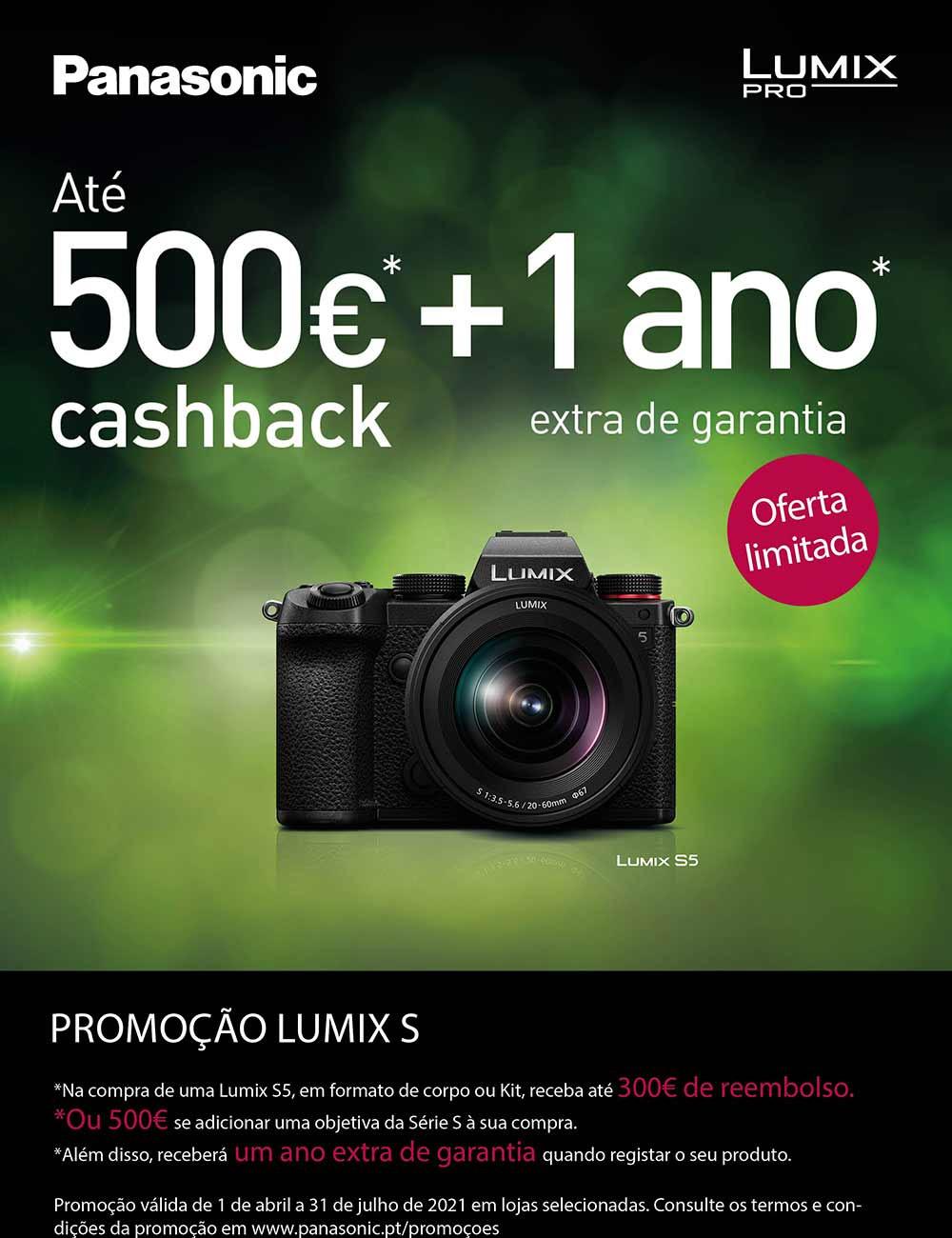 Promoção Lumix S