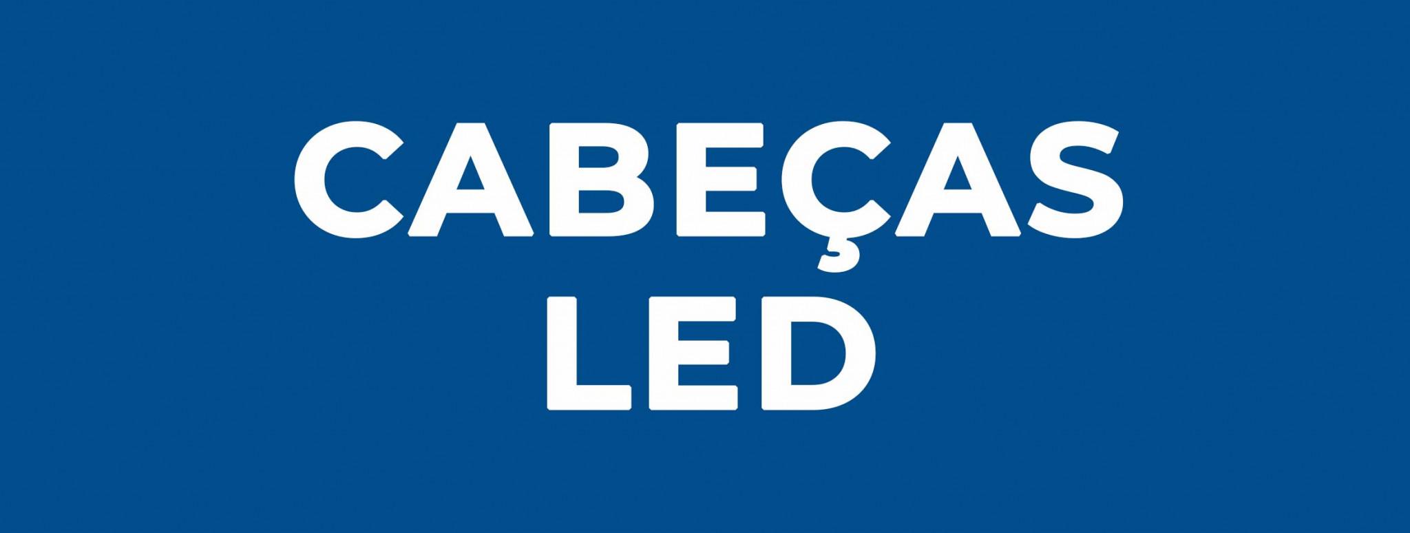 Cabeças LED