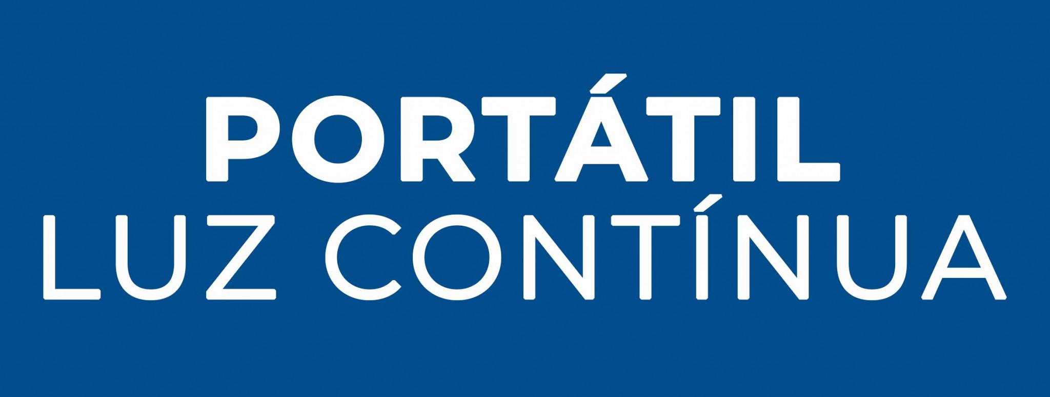 Portátil Luz Contínua