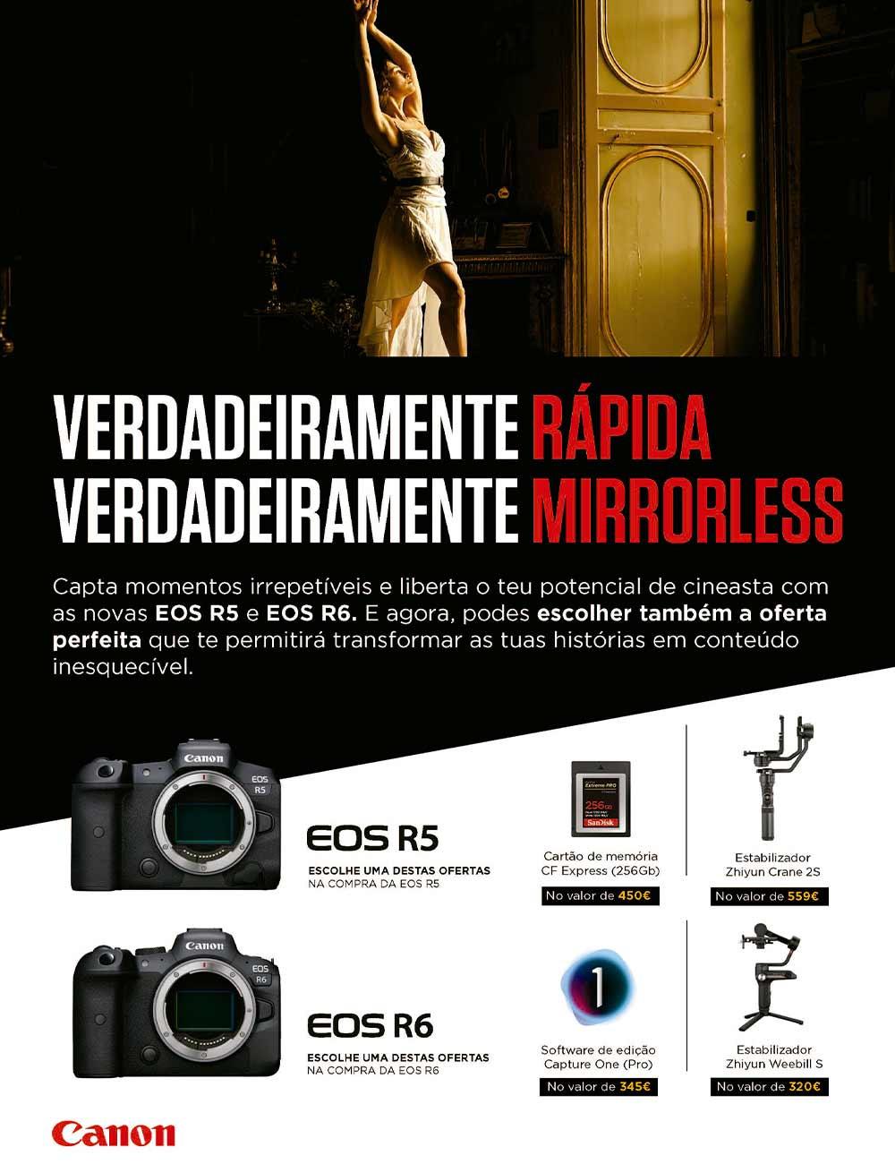 Campanha ADD Value Canon EOS R5 E R6