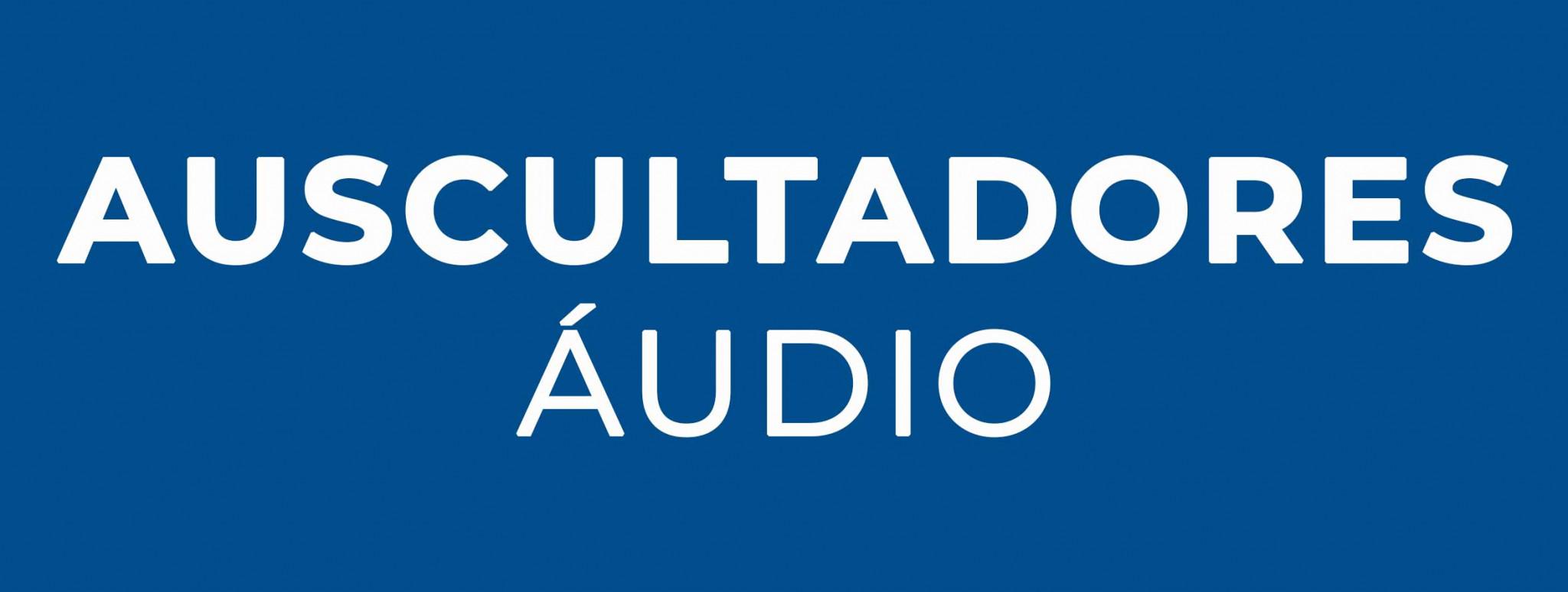 Auscultadores Áudio