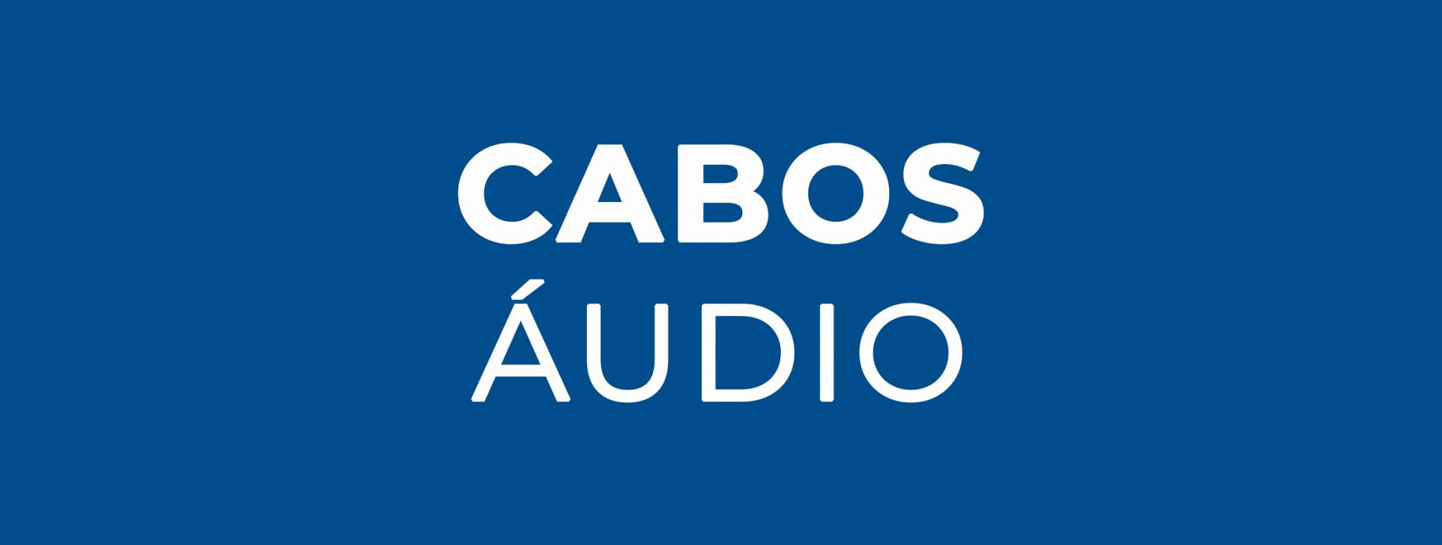 Cabos Áudio