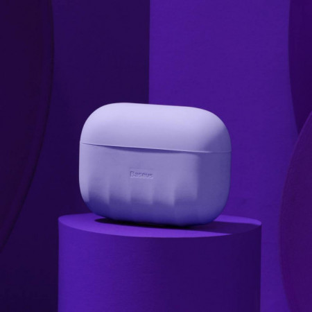 Baseus Capa p/ AirPods Pro Case Shell Purple (WIAPPOD-BK05)