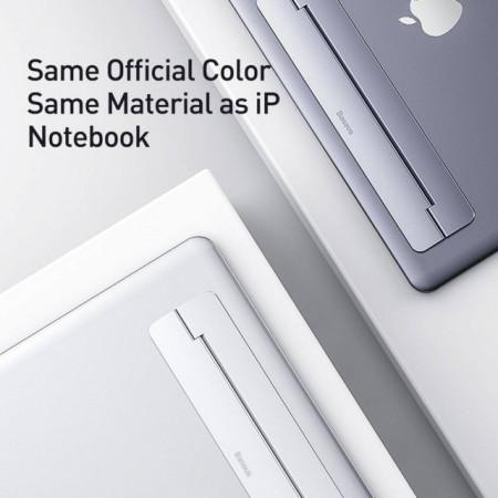 Baseus Suporte p/ Laptop Silver (SUZC-0S)
