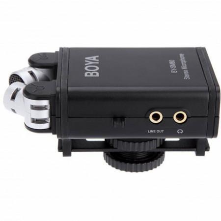Boya Microfone Stereo X/Y p/ Video (BY-SM80)