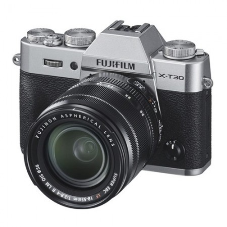 Fujifilm X-T30 Silver + XF 18-55 f/2.8-4 R LM OIS