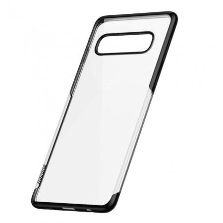 Baseus Capa Protetora p/ Samsung S10 Black (ARSAS10-MD01)
