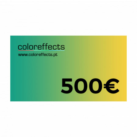 Coloreffects Cheque de Oferta 500€