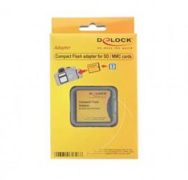 DeLock Adaptador CF p/ Cartão SD