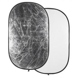 Quadralite Refletor 2 em 1 Branco e Prata 120 x 180cm