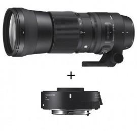 Sigma 150-600mm f/5-6.3 CONTEMPORARY DG OS HSM + TC-1401 p/ Canon
