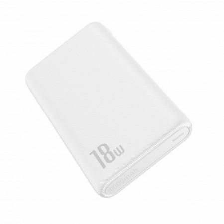 Baseus Bipow Power Bank PD + QC 10000mAh 18W Branco (PPDML-02)