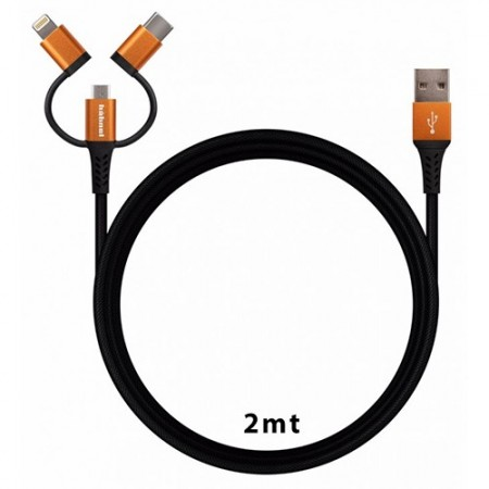 Hahnel Flexx Sync/Charge Cable 3em1 (2 mt)