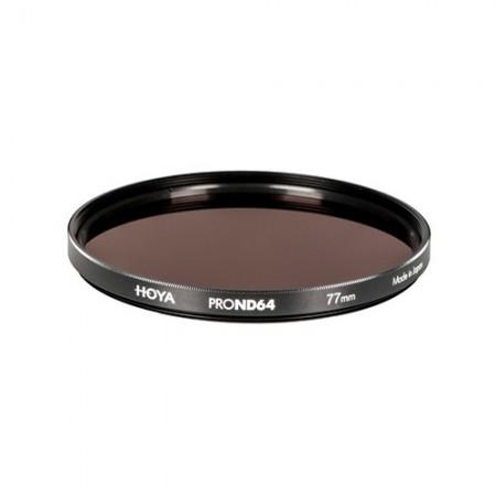 Hoya Filtro PRO ND64 (1.8) - 6 Stops - 52mm