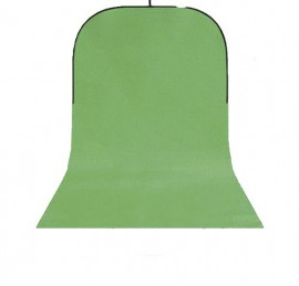 StudioKing Fundo Dobrável Verde (BBT-10) 150x400cm