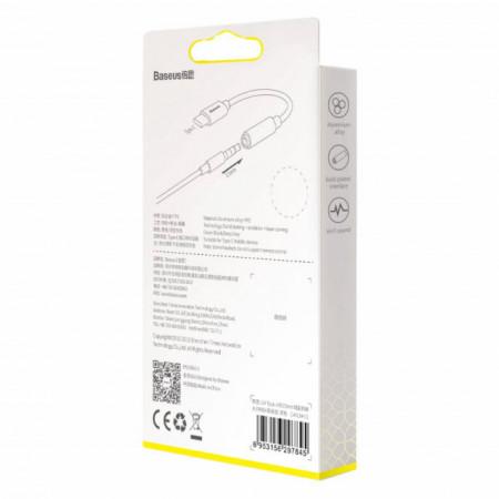 Baseus Adaptador Tipo-C Macho p/ 3.5mm Fêmea Black (CATL54-01)