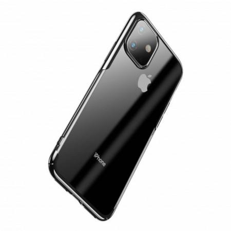 Baseus Capa p/ iPhone 11 Glitter Black (WIAPIPH61S-DW01)