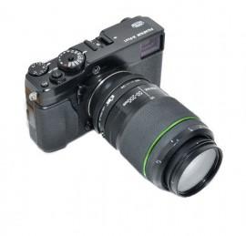 Kiwifotos Adaptador Objetivas Pentax K a Corpo Fujifilm X-Mount c/ Controlador Diafragma