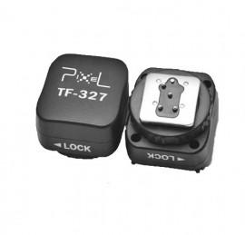 Pixel Adaptador de Sapata c/ Ligação Sincronismo p/ Nikon (TF-327)