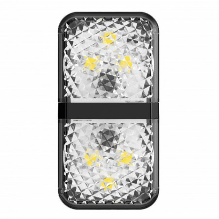 Baseus Luz de Sinalização Porta Aberta (2Unid.) Black (CRFZD-01)