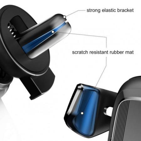 Baseus Suporte p/ Telefone Gravitacional Black (SUYL-01)