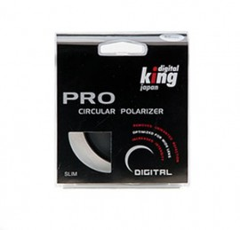 Digital King Filtro Polarizador Slim 62mm
