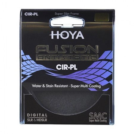 Hoya Filtro Polarizador Fusion Antistatic 55mm