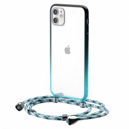 Baseus Capa p/ iPhone 11 Element Crossbody Blue (ARAPIPH61S-YS03)