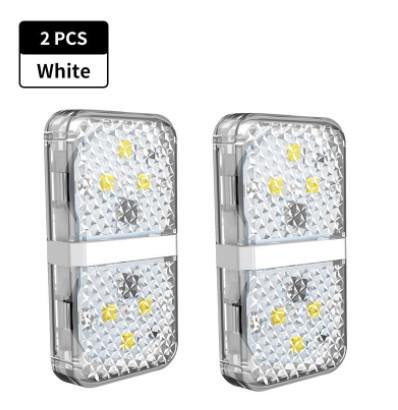 Baseus Luz de Sinalização Porta Aberta (2Unid.) White (CRFZD-02)