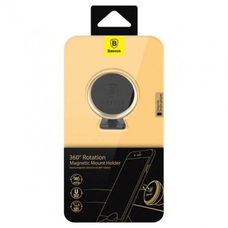 Baseus Suporte Magnético 360° Luxury Gold (SUGENT-NT0V)