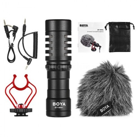 Boya Microfone Cardióide (BY-MM1)