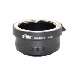 Kiwifotos Adaptador Objetivas Pentax K a Corpo Fujifilm X-Mount
