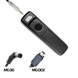 Pixel Disparador p/ Nikon Similar ao MC-30 + MC-DC2 (RC-208/DC0/DC2)
